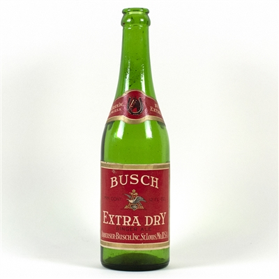 Busch Ginger Ale Prohibition Bottle
