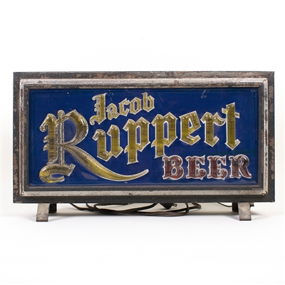 Ruppert Lighted Beer Sign