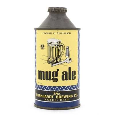 Mug Ale High Profile Cone Top Beer Can