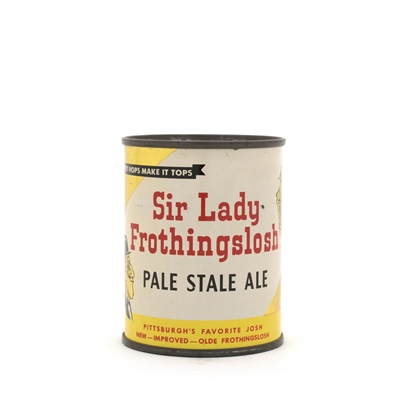 Sir Lady Frothingslosh Pale Stale Ale 8 oz. Flat Top