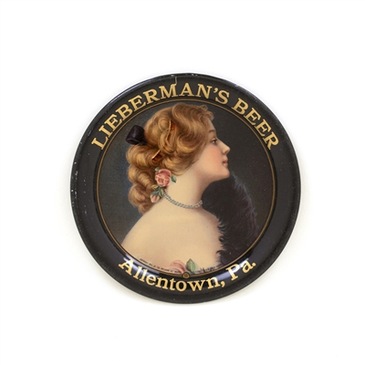 Liebermans Beer Tip Tray Allentown PA