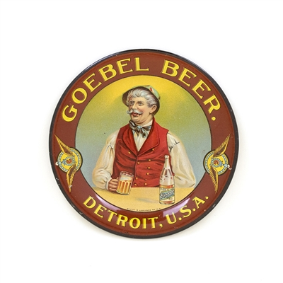 Goebel Beer Detroit Tip Tray