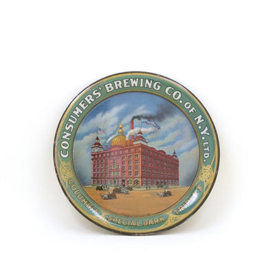 Consumer's Brewing Factory Scene Tip Tray