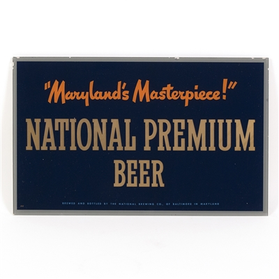 "National Premium ""Maryland's Masterpiece"" RPG Sign"