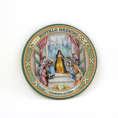 Buffalo San Francisco 1915 Exposition Tip Tray