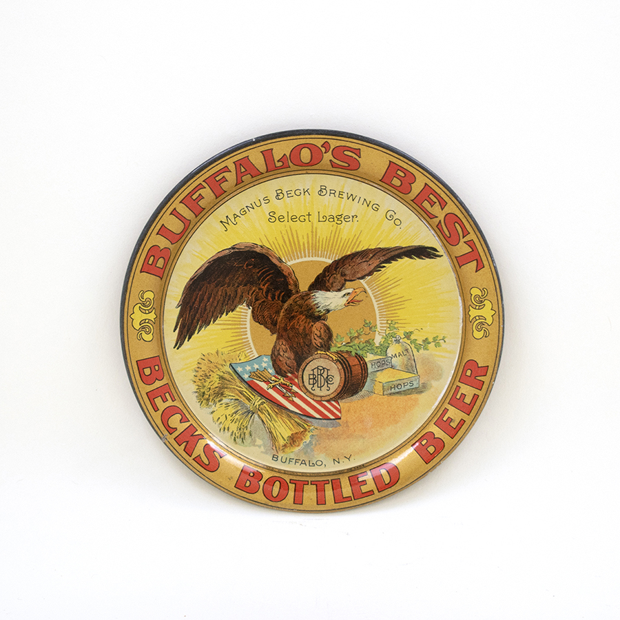 Buffalo Bottled Beer Eagle Tip Tray