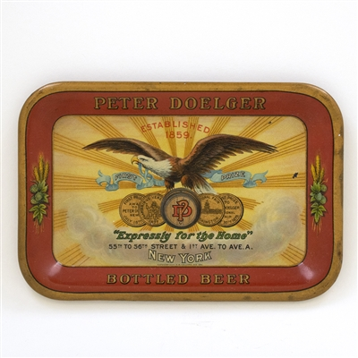 Peter Doelger Bottled Beer Eagle Tip Tray