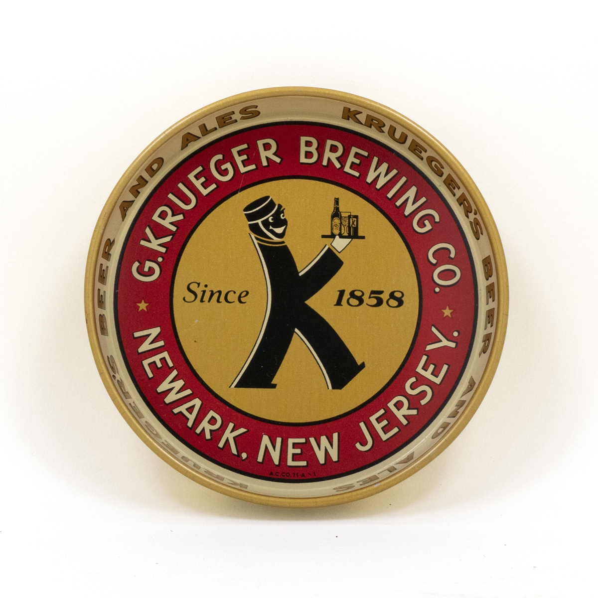 G. Krueger Brewing Co. Tip Tray