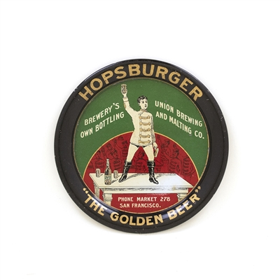 Hopsburger Golden Beer Tip Tray