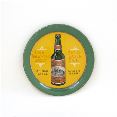 Tivoli Brewing Altes Lager Beer Bottle Tip Tray