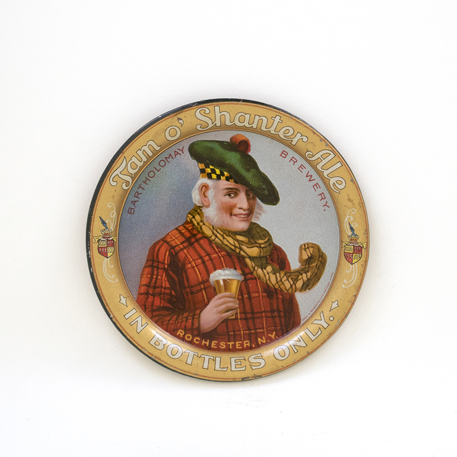 Tam o Shanter Ale In Bottles Tip Tray