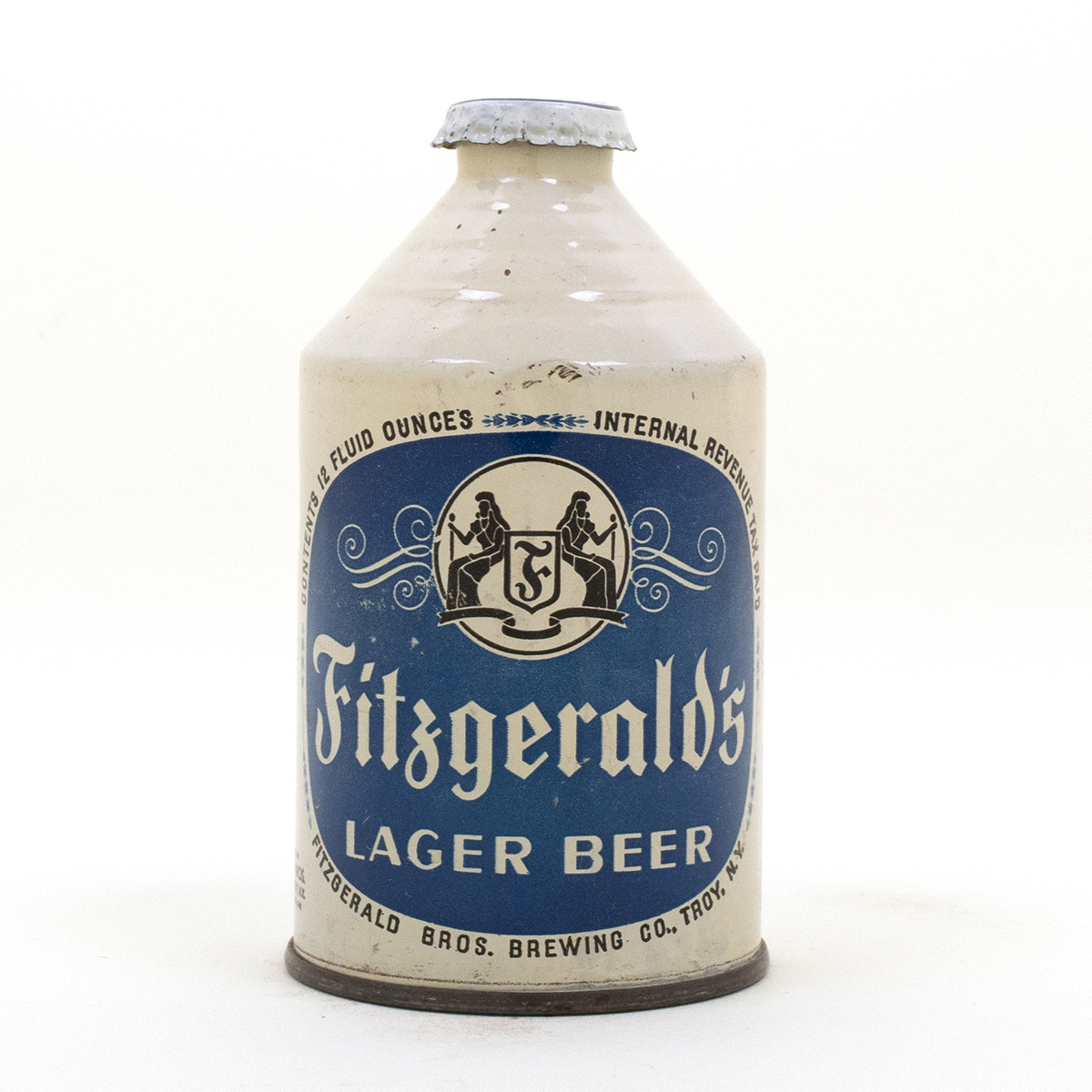 Fitzgerald Lager Beer Crowntainer Cone Top