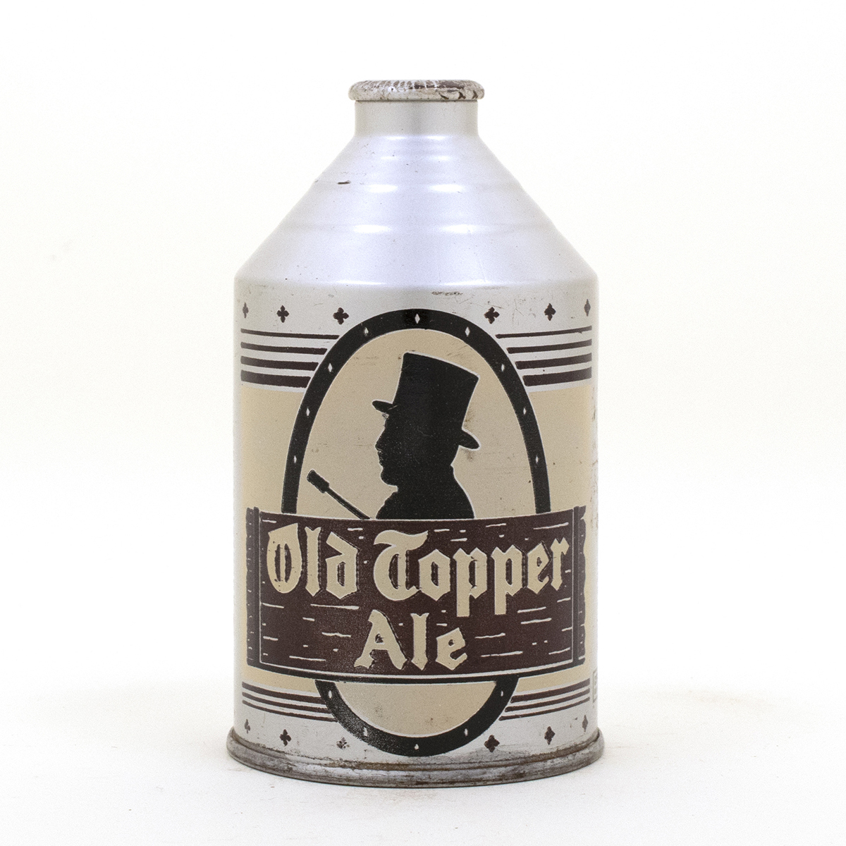 Old Topper Ale Crowntainer Cone Top
