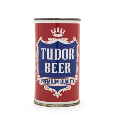 Tudor Beer Premium Quality Flat Top Can