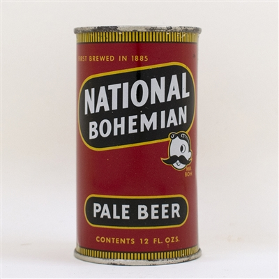 National Bohemian Pale Beer Flat Top Can