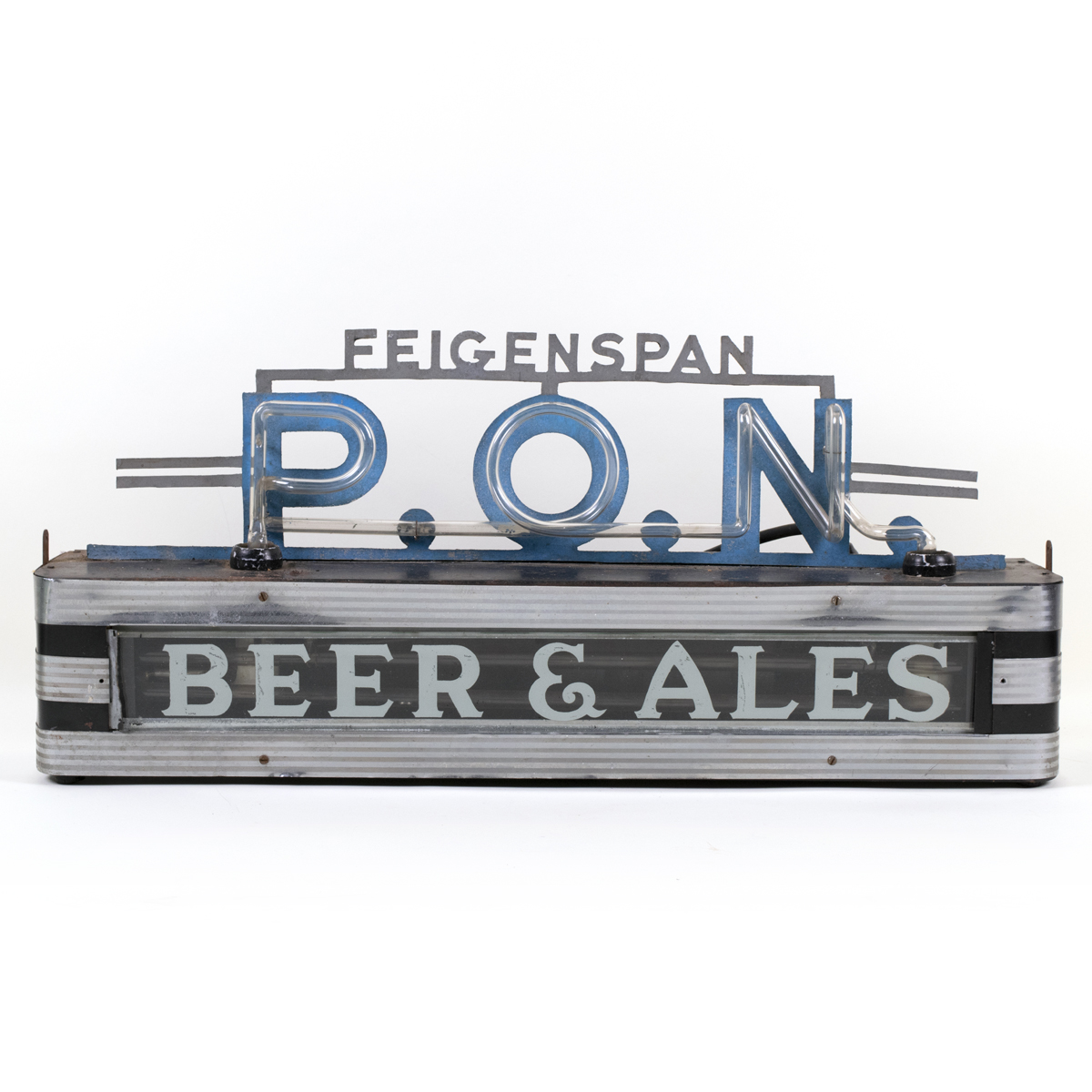 Feigenspan P.O.N. 1930s Neon Sign