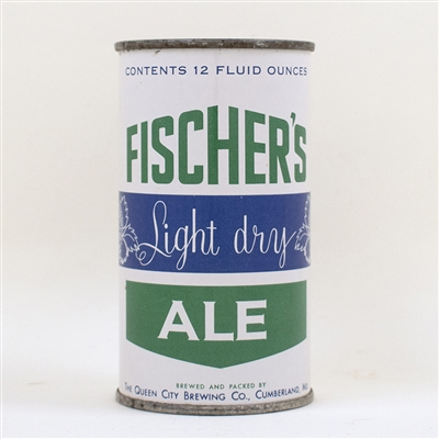 Fischers Light Dry Ale Flat Top Florida Lid