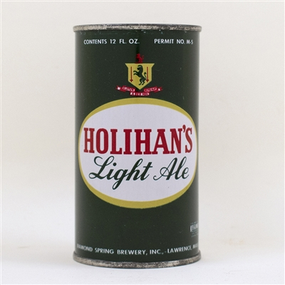 Holihans Light Ale Flat Top Can Vanity Lid
