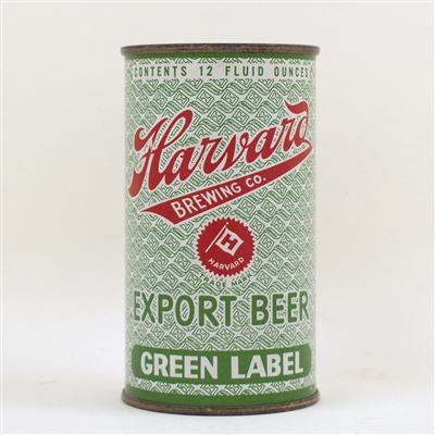 Harvard Export Green Label Flat Top Can