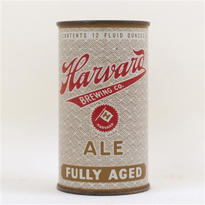 Harvard Fully Aged Ale Flat Top Can