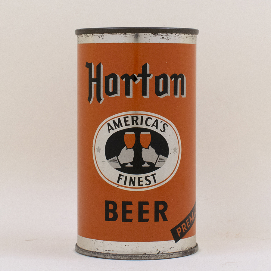 Horton Americas Finest Beer Flat Top Can
