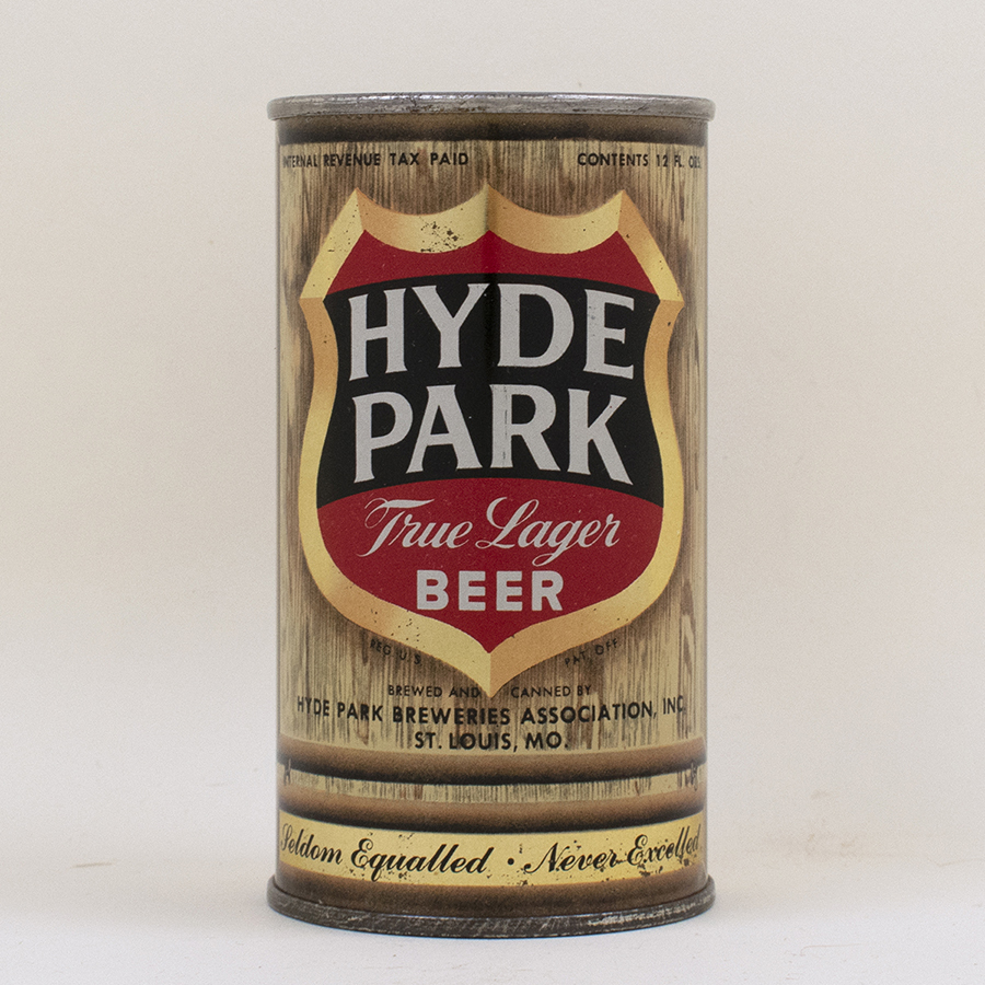 Hyde Park True Lager Beer Flat Top Can