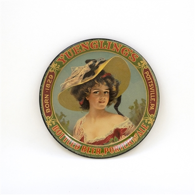 Yuengling Bottled Beer Victorian Lady Tip Tray