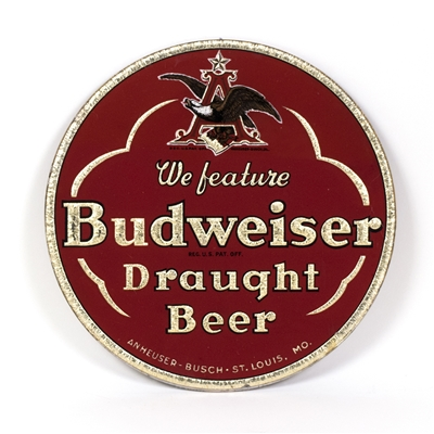 Budweiser Draught Beer Large RPG Sign