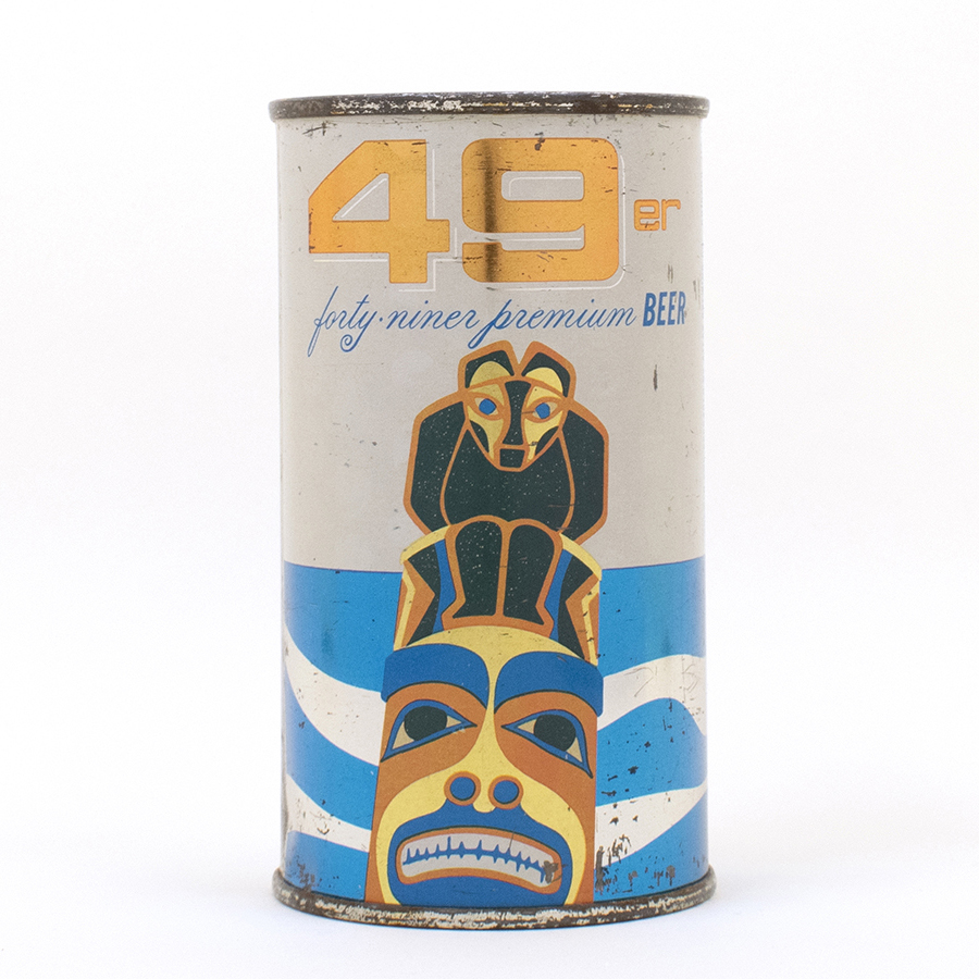 49er Flat Top Beer Can Atlas Brewing