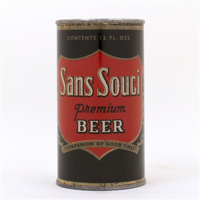 Sans Souci Premium Beer Flat Top Can
