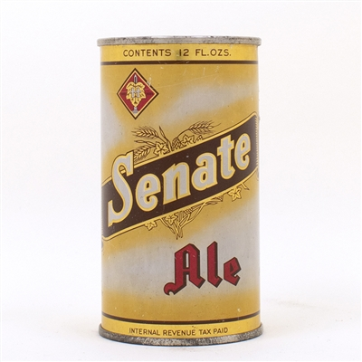 Senate Ale Flat Top Can 132-12 Yellow/Orange