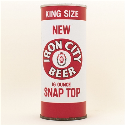 Iron City Beer Snap Top Early Zip Top Pint Can