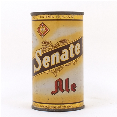 Senate Ale  75th YEAR 132-13 Beer Can Mug