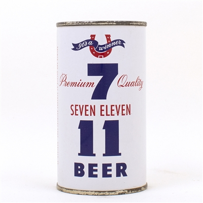 Seven Eleven Flat Top Can CENTURY NORFOLK VA