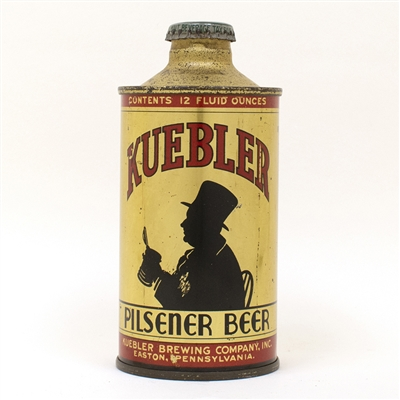 Kuebler Beer Silhouette J-spout Cone Top