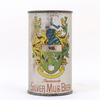 Silver Mug Beer Can Lebanon Valley Brewing