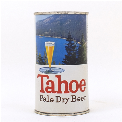 Tahoe Pale Dry Beer Flat Top Can 138-9