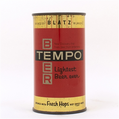 Tempo Beer Blatz Flat Top METALLIC