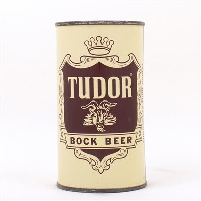 Tudor Bock Beer Flat Top Can HORNELL