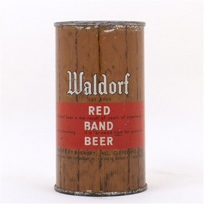 Waldorf Red Band Can ..THE RESULT OF YEARS..