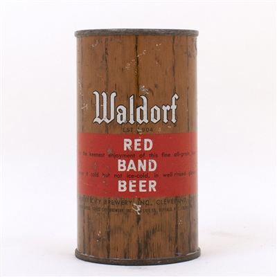 Waldorf Red Band Flat KEENEST ENJOYMENT