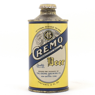 Cremo Beer J Spout Cone Top Beer Can