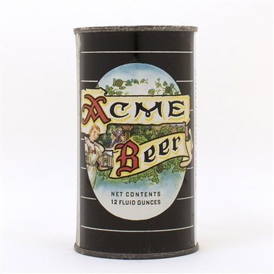 Acme Beer Flat Top Can