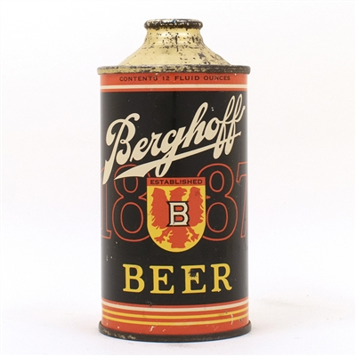 Berghoff 1887 Beer Cone Top Can