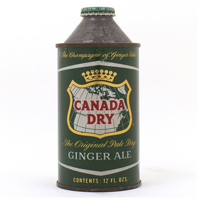 Canada Dry Ginger Ale Cone Top Can
