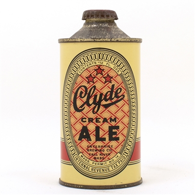 Clyde Cream Ale Cone Top Can