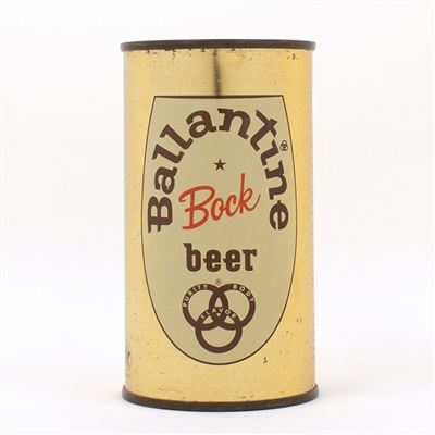 Ballantine Bock Beer  Can