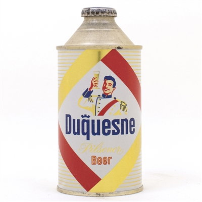 Duquesne Pilsener Beer Cone Top Can
