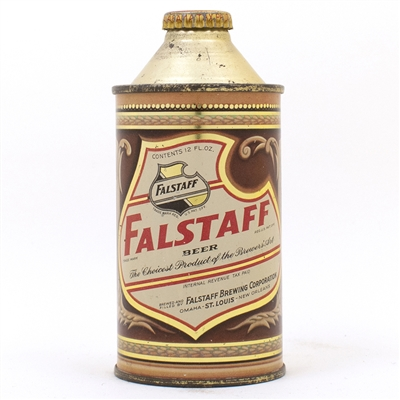 Falstaff Beer Cone Top Can