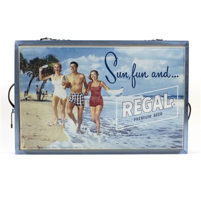 Sun, Fun and Regal Beer Lighted Sign